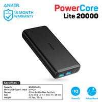 PowerBank Anker PowerCore Lite 20000 mAh Black - A1269