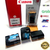 Original Battery Baterai Canon LP-E6 EOS 60D 70D 6D 7D X10 7D II 5D