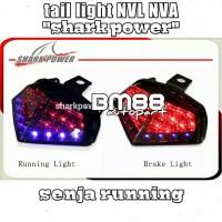 StopLamp NVL NVA SHARK POWER Senja Running - Lampu Rem New Vixion