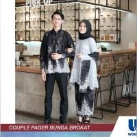 Baju Muslim Couple Batik Pasangan Keluarga Dewasa Syari Family