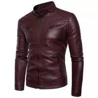 jaket kulit pria asli kulit sapi original