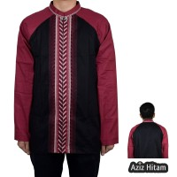 Baju Koko Aziz, Lengan Panjang (5 Pilihan Warna)