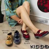 Promo Kiddo F 205-35 Sepatu Anyaman Rajut Wanita Flat Termurah