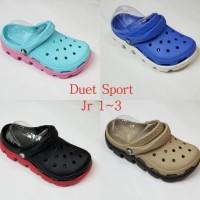 Promo Crocs Duet Sport Junior Size J1-J3 (31-35) Termurah