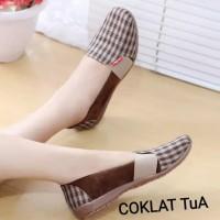 Promo Flatshoes/Slipon (Burberry) - Cokelat, 37 Termurah