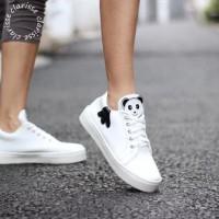 Promo Sepatu Wanita Kets Baby Panda Hitam - Hitam, 37 Termurah