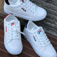 Promo Sneakers Fiilaaa Dea 3 Warna - Putih Merah, 37 Termurah