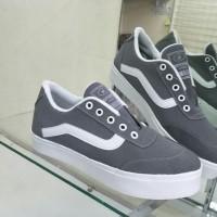 Promo Sepatu Wanita Kets Vans Sp31 - Abu-Abu, 37 Termurah