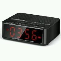 Desktop Bluetooth Portable Speaker And Alarm Clock 2 in 1 Functio