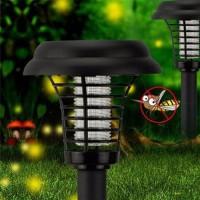 Lampu Taman Anti Nyamuk LED solar Bug zapper insect mosquito kill