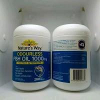 Minyak Ikan Natures Way Odourless Fish Oil