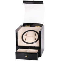 TAIYU Single Head 2+2 Slot Watch Winder Display Kotak Jam Tangan W115B