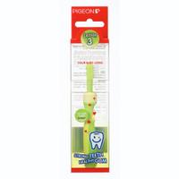 Pigeon Baby Training Toothbrush Lesson 3 Green | Sikat Gigi Bayi Hijau