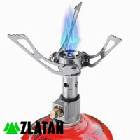 KOMPOR MINI RINGAN ULTRALIGHT CAMPING STOVE INFLATABLE NOT BRS BULIN
