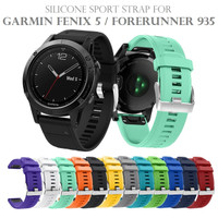 Silicone Sport Strap Watch Band for GARMIN FENIX 5 FORERUNNER 935