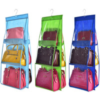 Rak Tas Gantung Bag Organizer Hanging Storage Tempat Penyimpanan