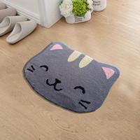 Keset Kaki Handtuft Halus Unik Cat Grey 40x60 cm