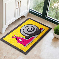 Keset Kaki Handtuft Halus Unik Snail 40x60 cm