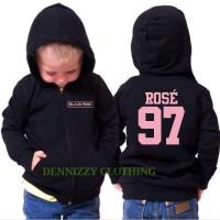 JAKET SWEATER ANAK BLACK PINK ROSE 97 - DENNIZZY CLOTHING
