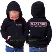 JAKET SWEATER ANAK PERSONIL BLACK PINK - DENNIZZY CLOTHING
