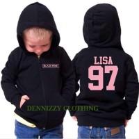 JAKET SWEATER ANAK BLACK PINK LISA 97 - DENNIZZY CLOTHING