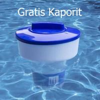 New floating chlorine klorin dispenser pelampung Kaporit Tablet