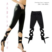 arbelacloth - Bandage Sport Leggings / Yoga Pants Cropped Pants