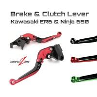 Handle Rem Kopling ER6 Ninja650 - brake clutch perch lever er6n 650