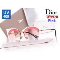 Kacamata Glasses Impor Import Dior UV400 UV-400 W9920 9920 Pink Batam