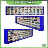Rak Rack Hotwheels 1:64 Isi 50 Lanscape Model Pintu Sleeding