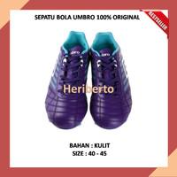 Dijual SEPATU BOLA UMBRO 100% ORIGINAL Medusae Club HG (Violet Limited