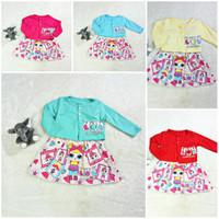 Baju Anak Bayi Perempuan Dress Bolero LOL