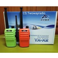 HT ASA X2 Single Band UHF 400-480Mhz / Handy Talkie ASA X2