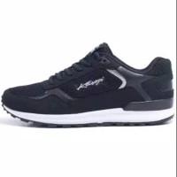 Kasogi Bosnia Black - Sepatu Running Sepatu Sekolah Sepatu Sneaker