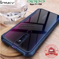 Case Oppo F11 PRO iPAKY Armor Bumper Transparent Clear Original Soft