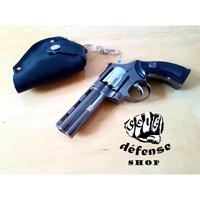 baruuu Pistol Korek Api Bara Jet Las Pyhton Colt Revolver