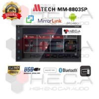 Mtech MM-8803SP HRS Android Head Unit Double Din 7inch Tape MM 8803 SP