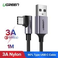 UGREEN Kabel Charger USB Tipe C Fast Charging 3A untuk Samsung