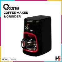 Oxone Coffee Maker & Grinder OX-122 Penggiling & Pembuat Kopi Elektrik