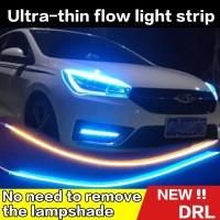 2pcs Lampu LED Ultra Tipis untuk DRL / Fog Lamp / Headlight Mobil