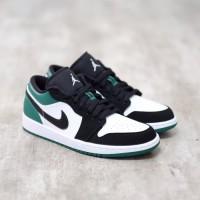 Nike Air Jordan 1 Low Green Toe 100% Authentic