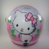 Helm anak SNI Little Kitty White not Ink Kyt nhk Axio