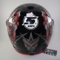 Helm anak SNI Transformer Robot Red Black not Ink Kyt nhk Axio