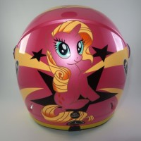 Helm anak SNI Little Ponny Pink not Ink Kyt nhk Axio