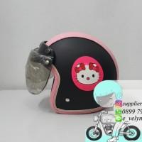 Helm Bogo Anak Hello Kitty not Ink Kyt nhk Axio
