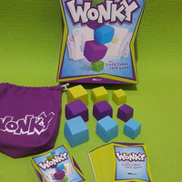 Board Game WONKY The Crazy Cubes Card Game by USAopoly