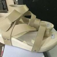 Promo Sandal Wedges Wanita Elegan Wg07 - Cream, 37 Termurah
