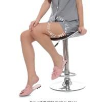 Promo Sepatu Wanita Flatshoes Selop Olga Salem Best Seller - Merah