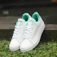Promo Sepatu Adidas Neo Advantage Women Full Putih White Grade