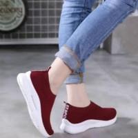 Promo Sepatu Sandal Wanita Cewek Slip On Vegasus Berkualitas Terbaru -